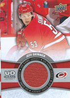 2015-16 Upper Deck Game Jersey JEFF SKINNER Fabric Swatch UD 02525