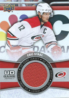 2015-16 Upper Deck Game Jersey ERIC STAAL Fabric Swatch UD 02526