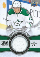 2015-16 Upper Deck Game Jersey VALERI NICHUSHKIN Fabric Swatch UD 02535