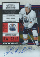 2010-11 Playoff Contenders LINUS OMARK Auto / RC Panini Rookie 00033