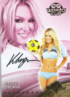 2014 Bench Warmer Soccer World Cup KIRSTY LINGMAN Autograph Authentic