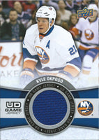 2015-16 Upper Deck Game Jersey KYLE OKPOSO Fabric Swatch UD 02541