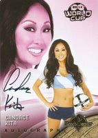 2014 Bench Warmer Soccer World Cup CANDACE KITA Autograph Authentic