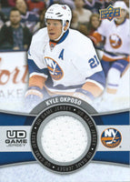 2015-16 Upper Deck Game Jersey KYLE OKPOSO Fabric Swatch UD 02542