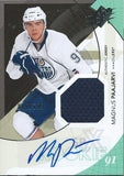 2010-11 SPX MAGNUS PAAJARVI Jersey Auto Rookie 49/799 Oilers RC 01646