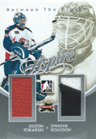 2011-12 ITG Between the Pipes Aspire TOKARSKI / ROLOSON Dual Jersey 02273