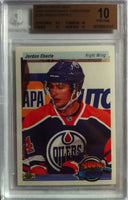 2010-11 Upper Deck Retro JORDAN EBERLE BGS 10 Young Guns RC 9.5 10 10 10