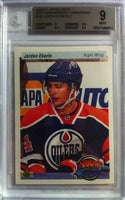 2010-11 Upper Deck Retro JORDAN EBERLE BGS 9 Young Guns RC Oilers