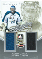 2011-12 ITG Between the Pipes Aspire LIEUWEN / MILLER Dual Jersey 02272