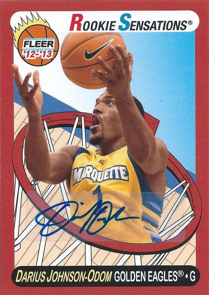 2012-13 Fleer Retro Autographs DARIUS J-ODOM Auto Rookie Sensation 01197