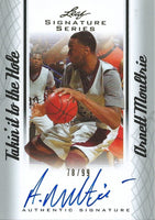 2012-13 Leaf Signature Takin the Hole Silver ARNETT MOULTRIE 78/99 01191