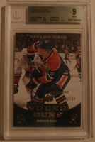 2010-11 Upper Deck Exclusives 50/100 TAYLOR HALL BGS 9 Young Guns YG RC