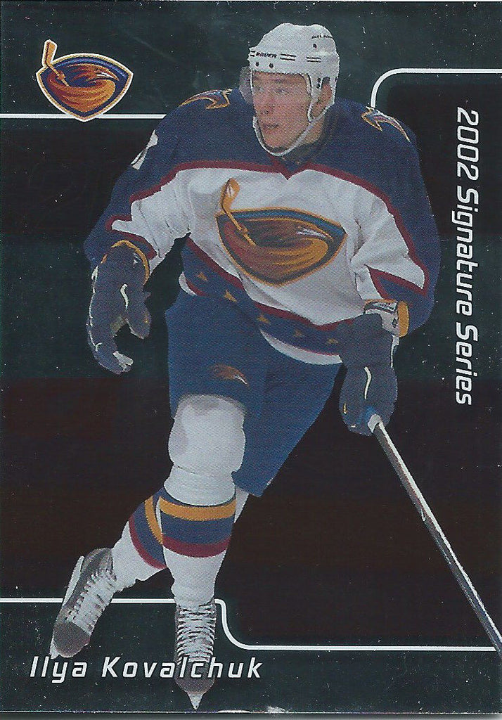 2001-02 BAP Signature Series #207 ILYA KOVALCHUK Rookie RC Hockey 02446