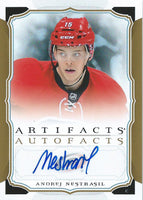 2015-16 Upper Deck Artifacts Autofacts ANDREJ NESTRASIL Autograph UD 02499