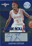 2012-13 Totally Certified Rookie Roll Blue COURTNEY FORTSON auto 01157