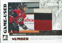 2007-08 ITG Heroes and Prospects Numbers ANGELO ESPOSITO /20 BV $50 02318