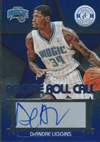 2012-13 Totally Certified Rookie Roll Blue DeANDRE LIGGINS /199 Auto 01153