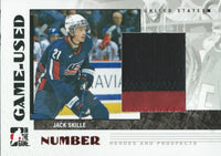 2007-08 ITG Heroes and Prospects Numbers JACK SKILLE /20 - BV $40 - 02317