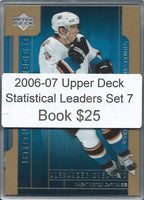 2006-07 Upper Deck Statistical Leaders Set 1-7 - Ovechkin, Brodeur,+ 02384