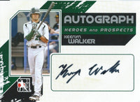 2011 ITG Heroes and Prospects Full Body KEENYN WALKER /390* Auto MLB 01246