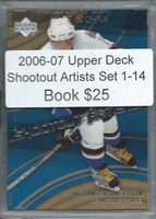 2006-07 Upper Deck Shootout Artists Set 1-14 - Ovechkin, Richards,++ 02388