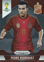 2014 Panini Prizm World Cup Prizms PEDRO RODRIGUEZ Soccer Spain Football