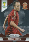 2014 Panini Prizm World Cup Prizms ANDRES INIESTA Soccer Spain Football