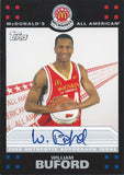 2008 Topps McDonald's All-American WILLIAM BUFORD Auto **SP** 01142