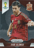 2014 Panini Prizm World Cup Prizms XABI ALONSO Soccer Spain Football