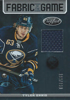 2012-13 Certified Fabric of Game TYLER ENNIS 199/299 Jersey NHL 01958