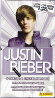 2010 Panini Justin Bieber Blaster Box Trading Cards Sealed 9 pack box