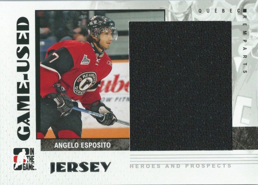 2007-08 ITG Heroes and Prospects Jerseys ANGELO EXPOSIT Game /130* 02315