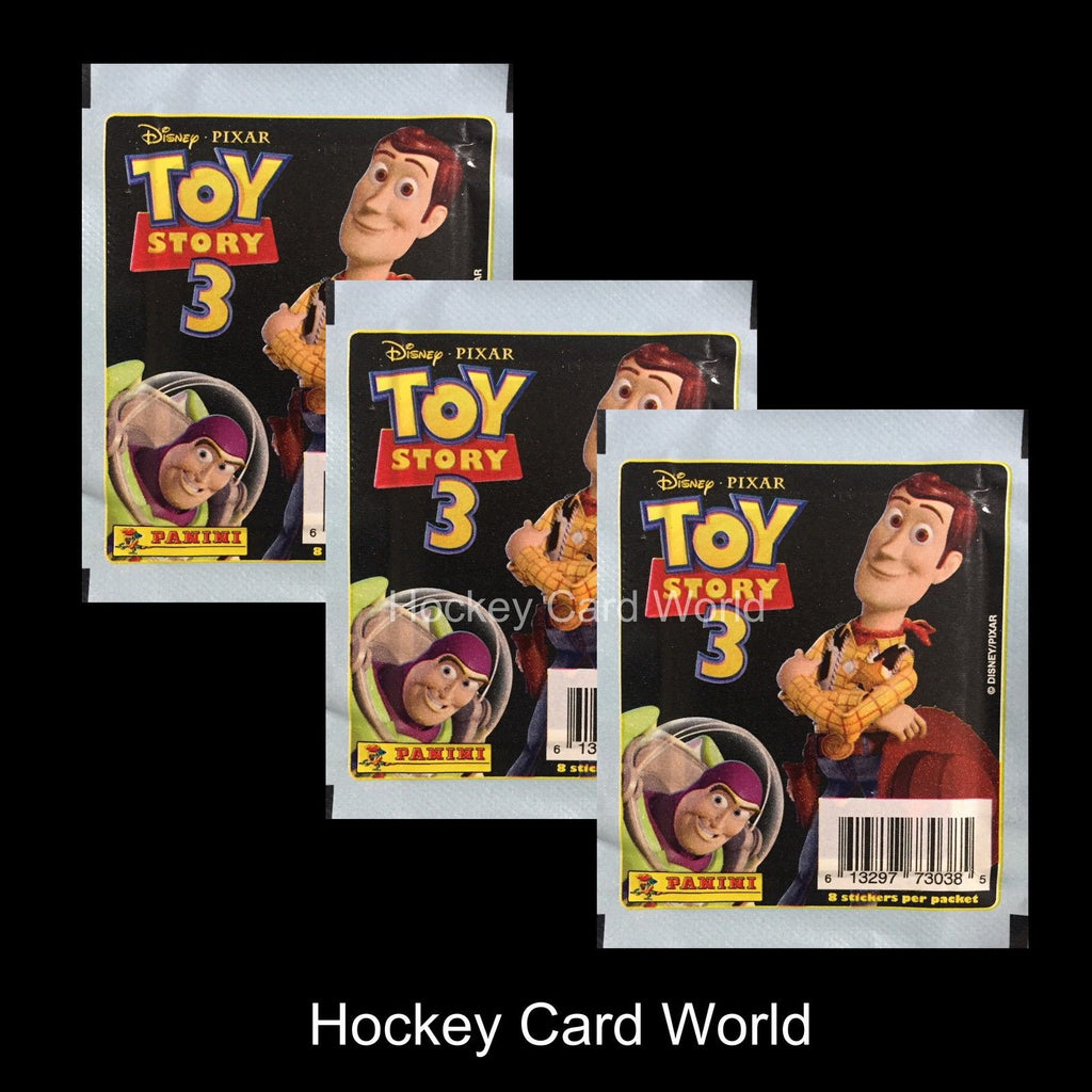 Disney Pixar Toy Story 3 Album Sticker Pack x3 (3 Pack Lot - 24 Stickers)