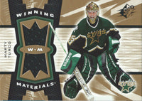 2006-07 Upper Deck SPX Winning Materials MARTY TURCO UD Jersey NHL 01852