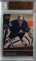 2009-10 Upper Deck JAMES REIMER BGS 10 Young Guns RC 10 10 9.5 10 Toronto