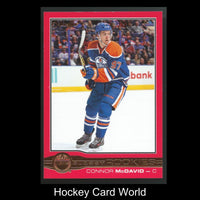 2015-16 O-Pee-Chee Glossy Red CONNOR McDAVID Rookie RC Upper Deck