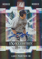 2009 Donruss Elite Extra Edition LUKE MURTON #/750 Rookie Panini 01455