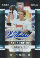 2009 Donruss Elite Extra Edition NEIL MEDCHILL #/710 Rookie New York 01457