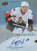 2013-14 Upper Deck Trilogy Premiers CORY CONACHER 183/999 Auto RC 02490