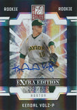 2009 Donruss Elite Extra Edition KENDAL VOLZ #/695 Rookie Panini Boston