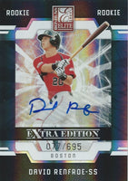 2009 Donruss Elite Extra Edition DAVID RENFROE 77/695 Rookie Panini 01467
