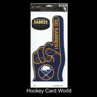 Buffalo Sabres Multi-Use Decal/Sticker 2 Pack Finger/Puck NHL 4