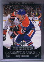 2010-11 Upper Deck French YG TAYLOR HALL Young Guns Rookie Oilers 02184