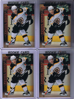 2007-08 Upper Deck YG DAVID KREJCI Young Guns Rookie Boston Bruins 02205