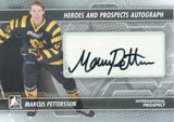 2013-14 ITG Heroes and Prospects MARCUS PETTERSSON Autograph Auto  00442