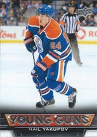 2013-14 Upper Deck YG NAIL YAKUPOV Young Guns Rookie RC 02176