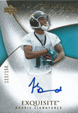 2007 Exquisite Collection JOHN BROSSARD Autograph Rookie 122/150 01579