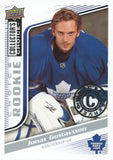 2009-10 Collector's Choice Reserve JONAS GUSTAVSSON $20 Rookie RC 00885