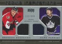 2005-06 Upper Deck Rookie Update BOCHENSKI/PARRISH Jersey 232/999 01657