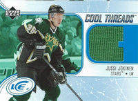 2005-06 UD Ice Cool Threads JUSSI JOKING Jersey  Upper Deck Stars 00815